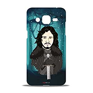 ezyPRNT The Inverted Sword Beautiful Premium PC Plastic Mobile Back Case Cover for Samsung Galaxy J2