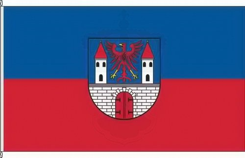 Königsbanner Hissflagge Havelberg - 80 x 120cm - Flagge und Fahne