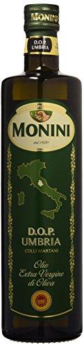 Monini d.o.p. umbria colli assisi spoleto olio extra vergine di oliva - 1 bottiglia da 750 ml