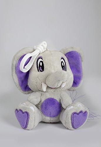 Scentco Buddies Elefantes de Mantequilla de Cacahuete y gelatina Mochila (Gris/púrpura)