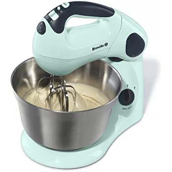 Breville Pick and Mix Stand and Hand Mixer - Pistachio