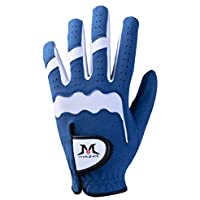 MAZEL Mens Golf Glove For Right or Left Handed Golfer All Weather Washable Golf Gloves