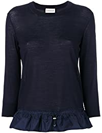 Moncler Mujer 9082800979BD778 Azul Lana Suéter