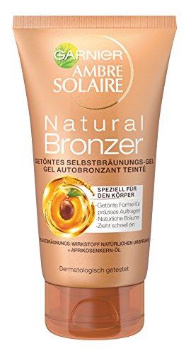 Garnier Ambre Solaire Selbstbräuner Natural Bronzer/Selbstbräunungs-Gel, 1er Pack (1 x 150 ml)