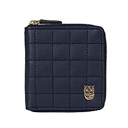 Chumbak Quilted Navy Pocket Wallet
