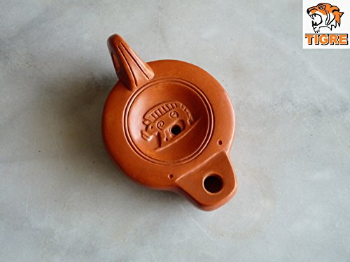 lampe-a-huile-romaine-gauloise-sanglier