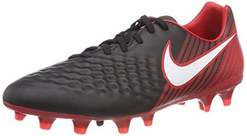 Nike Magista Onda II FG, Botas de fútbol para Hombre, Multicolor Negro/Blanco/Rojo Universitario 061...
