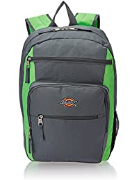 Dickies Double Deluxe 24 ltrs Grey and Green Casual Backpack (I-27094-BKP008043001)