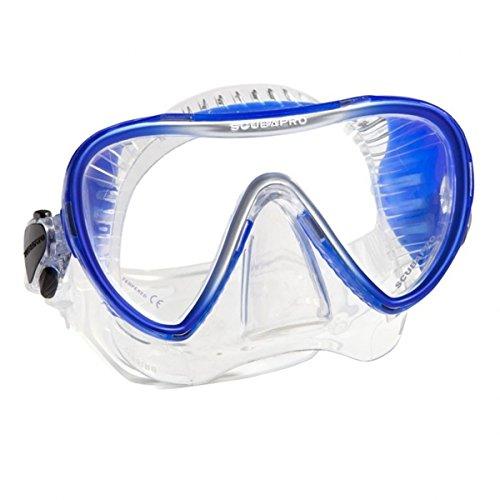 Synergy 2 Einglas Tauchmaske von Scubapro in Clear/Blue