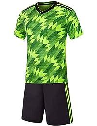 e91899880b7 Aiweijia Ropa Deportiva Deportiva para jóvenes Adultos Camiseta de Manga  Corta Suelta Ropa Deportiva de fútbol