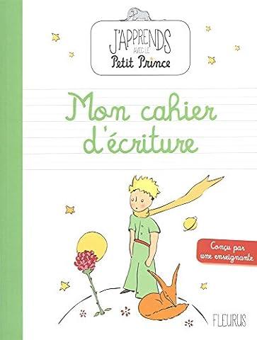 Mon cahier d'écriture avec le petit prince