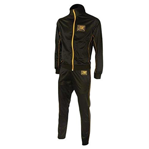 Tuta Sportiva Completa (Giacca e Pantaloni) Leone AB798 Blu Nero