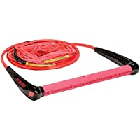 Proline 75'LG wakeboard rope paquete, Unisex, 75'LG PKG w/3-5'SEC - RED, rojo