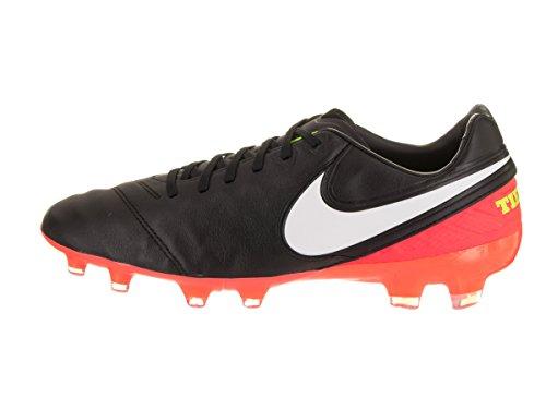 Nike 819218-018, Chaussures de Football Homme Noir (Black/white-hyper Orange-volt)