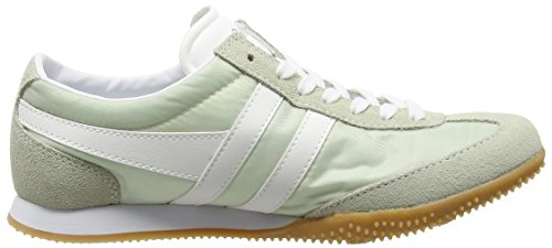 Gola Wasp, Baskets Basses femme Vert - Green (Soft Meadow/White)