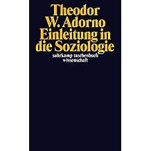 Einleitung in die Soziologie (1968) (suhrkamp taschenbuch wissenschaft)