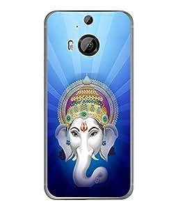 PrintVisa Designer Back Case Cover for HTC One M9 Plus :: HTC One M9+ :: HTC One M9+ Supreme Camera (Vinayaka chathurdhi Shiva puthra design)