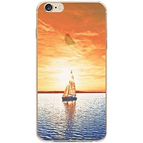 iPhone 7 Custodia, Pacyer® Scenario Cover Silicone Gel TPU per Apple iPhone 7 Case Custodia Bumper Cover Trasparente TPU Silicone Antigraffio Custodia per iPhone 7 (4,7