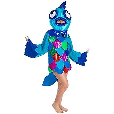 Disfraz de Pez azul para adultos