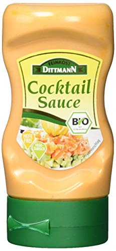 Feinkost Dittmann Bio Cocktailsauce, 5er Pack (5 x 210 ml)