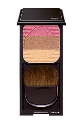 Shiseido Face Color Enhancing Trio unisex, Puder 7 g, Farbe: RS1 - plum, 1er Pack (1 x 0.088 kg) - Pflege-trio