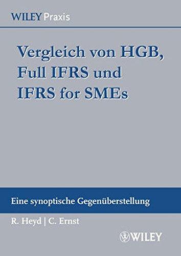 Vergleich von HGB, Full IFRS und IFRS for SMEs: Eine synoptische Gegenüberstellung