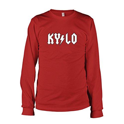 TEXLAB - Kylo Back in Black - Herren Langarm T-Shirt Rot
