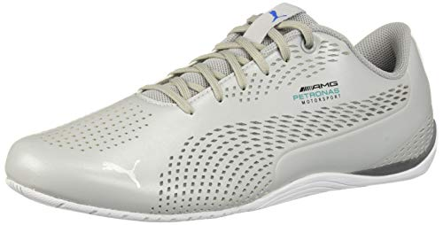 sports shoes 96642 707ee PUMA - Mercedes Drift Cat 5 Ultra Hombre, Plateado (Mercedes Team  Silver-Smoked