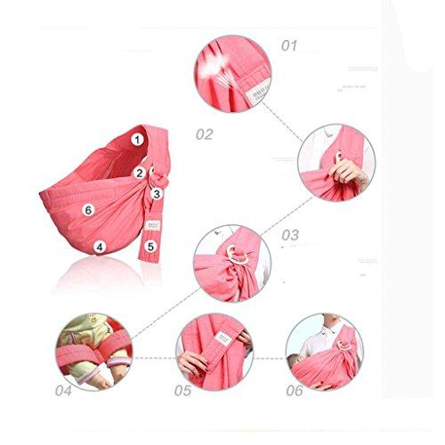 Neugeborene Handtuch zurück Horizontaltyp Halten Sie die Tasche Multifunktion Baby Gurt A