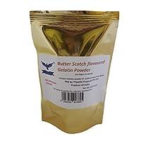 Butter Scotch Flavoured Gelatin Powder 100gm
