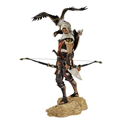LJJOO Männlicher Attentäter Ägyptischer Wächter Anime Statue Anime Skulptur Modell Für Hobby Desktop Dekoration Sammlung Dekoration Toy (Tv Figur Kostüme Für Verkauf)