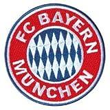 FC Bayern Aufnäher Logo klein