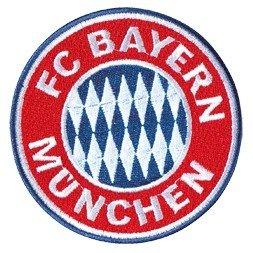 FanSport24 FC Bayern Aufnäher Logo klein