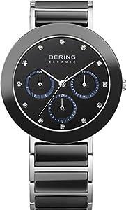 Bering 11438-742 - Reloj para mujeres, correa de acero inoxidable color plateado de Bering