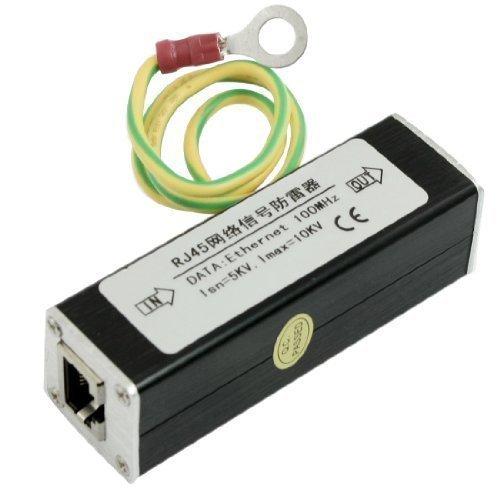 sourcingmap® RJ45 Presa Rete Ethernet Limitatore Di Sovratensione Thunder Parafoglie 100MHz
