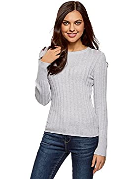 oodji Collection Mujer Jersey Te