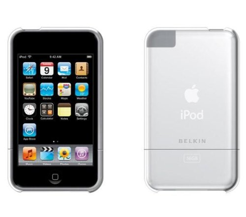 Belkin F8Z 368 Acryl-Hülle für Apple iPod Touch 2. Gen klar -