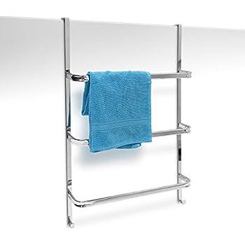 mdesign handtuchhalter ohne bohren montierbar handtuchhalter t r befestigung einfach. Black Bedroom Furniture Sets. Home Design Ideas
