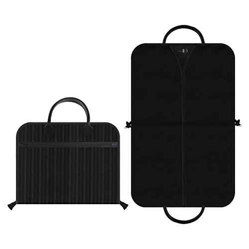 Kleidersack, Anzugsack, Anzughülle, Hochqualitative & Wasserabweisende Anzugtasche, Atmungsaktive Kleiderhüllen mit Tragegriffen - Erstklassiger, Allround Schutz für Ihre Anzüge und Kleider-100 x 60cm