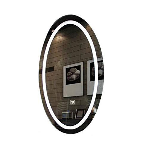 LRXG Make-up-Spiegel Make-up-Spiegel, Schönheits-Salon-Spiegel-LED-Licht-Friseursalon-Badezimmer-Spiegel-Wand-Berg mit Noten-Sensor-Schalter-Kosmetik-Spiegel -