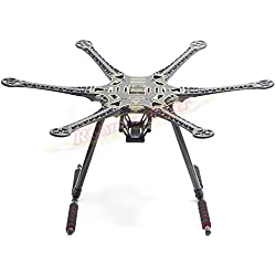 S550 F550 Upgrade Hexacopter Fuselage Frame Kit PCB w/Carbon Fiber Landing Gear by powerday?