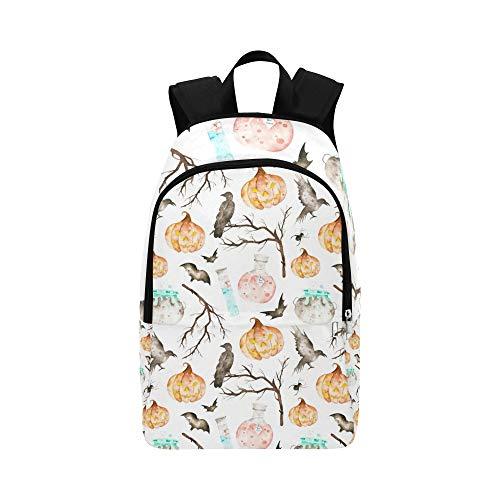 tlose Muster enthalten Magie Stock Illustration Lässig Daypack Reisetasche College School Rucksack für Männer und Frauen ()