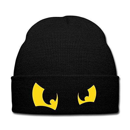 Cartoon Kostüm Gesicht Zwei (Comic Augen Wintermütze von Spreadshirt®,)