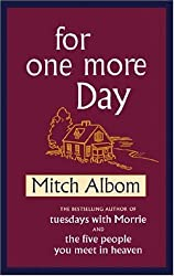 BY Albom, Mitch ( Author ) [ FOR ONE MORE DAY - LARGE PRINT ] Oct-2006 [ Hardcover ]