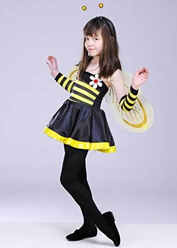 Kinder Bumble Bee Girl Kostüm Medium (6-8yrs)