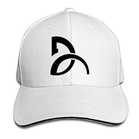 Yhsuk Novak Djokovic Sandwich Peaked Hat/Cap White