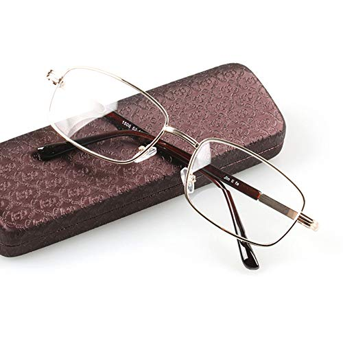 D&XQX Farbwechsel-Lesebrille - Gleitsichtbrille aus Kunstharz für den Innen- und Außenbereich Doppellicht-Farbsonnenbrille Far and Near Unisex mit doppeltem Verwendungszweck,White,+3.00