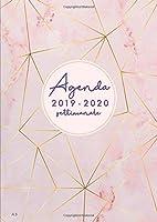 Agenda settimanale 2019 2020 A5: Agenda 2019/2020 giornaliera italiano | 18 mesi |  luglio 2019 - dicembre 2020 | marmo...