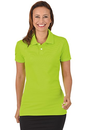 Trigema Poloshirt Elast. Piqué, Polo Femme Gelb (lemon 271)