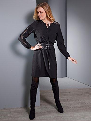 Damen Tunikakleid mit Spitze by Paola Schwarz